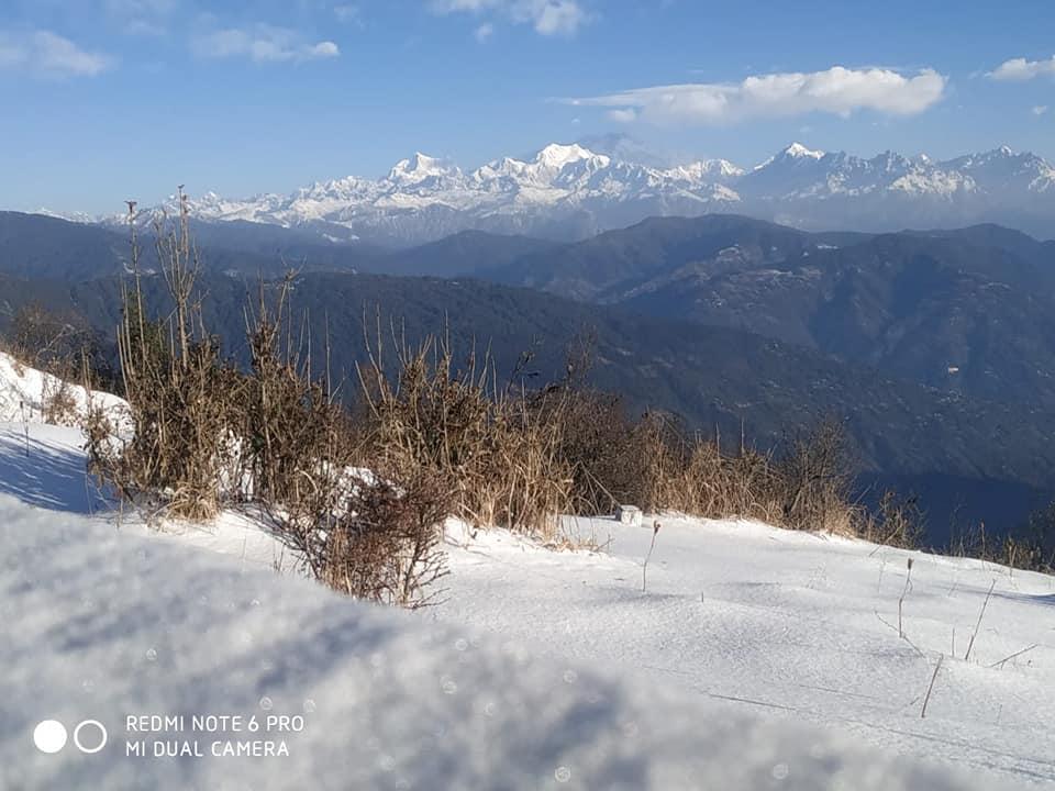Sandakphu in winter