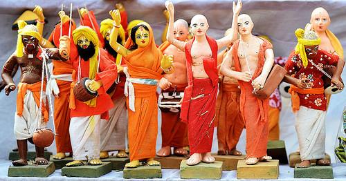 Clay Doll of Ghurni,Krishnanagar