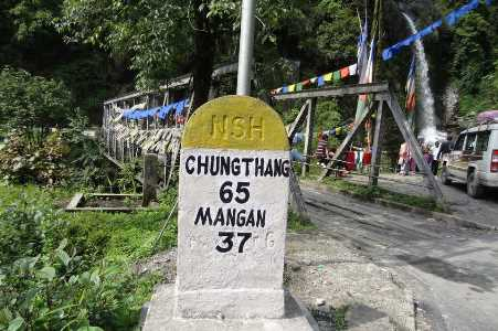 way to lachung
