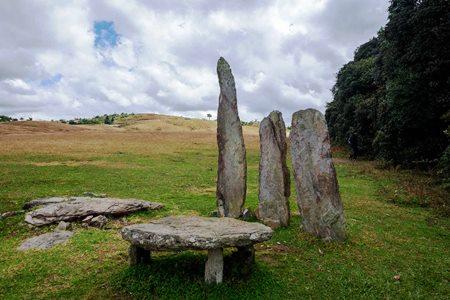 Monoliths in Shillong