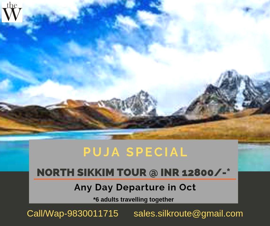 North Sikkim Tour Puja 2019