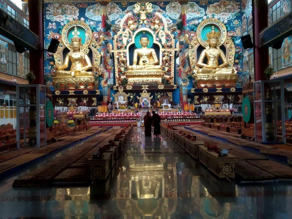Golden Temple-Namdroling monastery