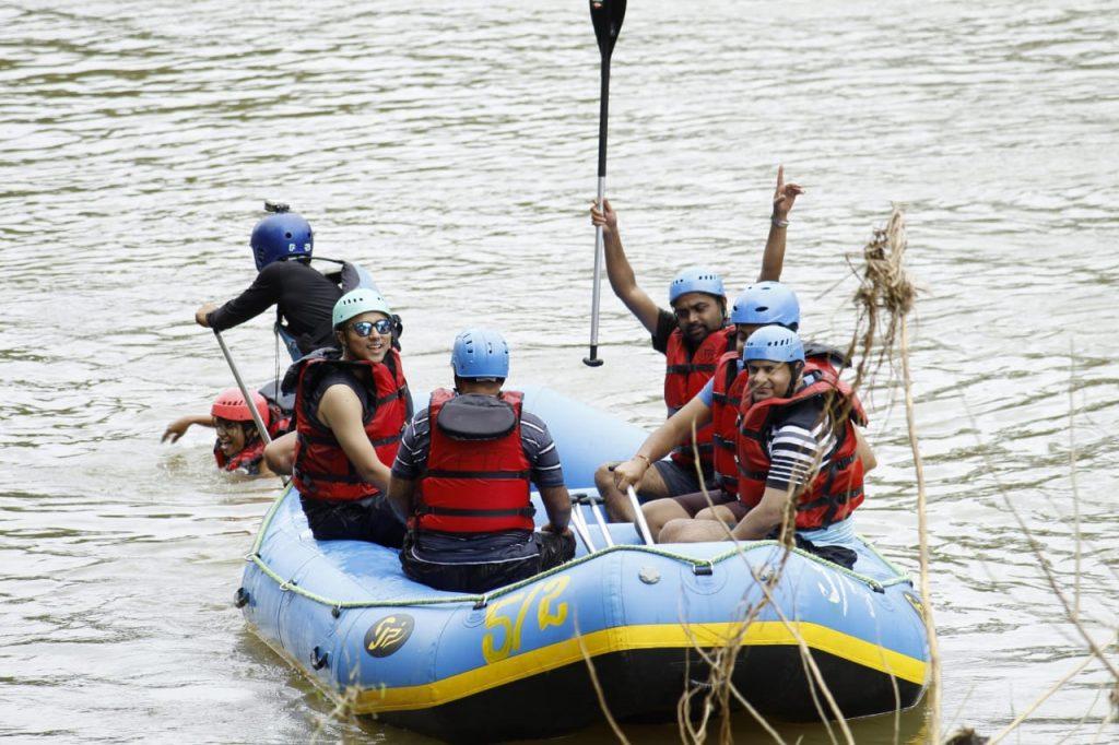 Rafting in Kaveri River