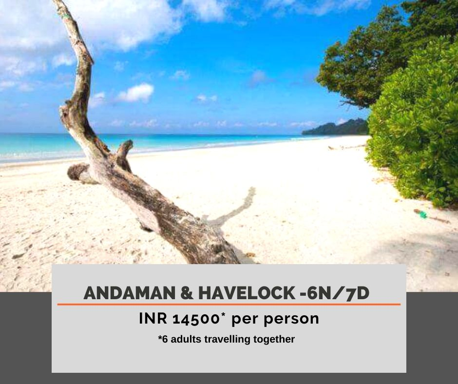 Andaman Tour package from kolkata