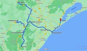Daringbadi map